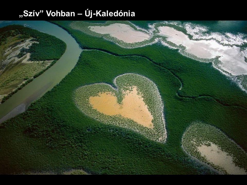 """""""Szív"""" Vohban – Új-Kaledónia"""