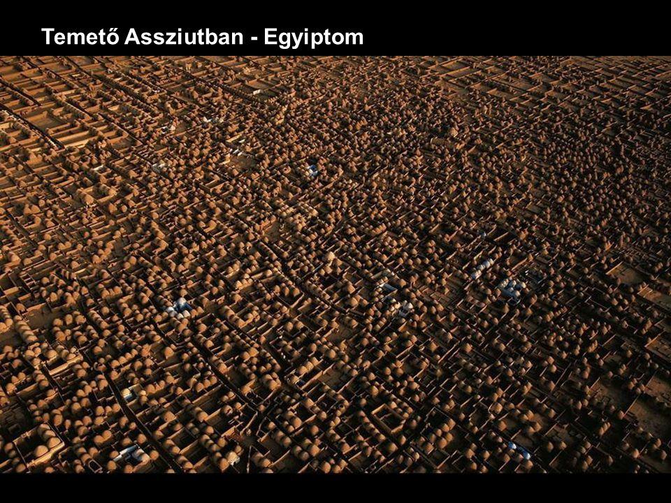 Temető Assziutban - Egyiptom