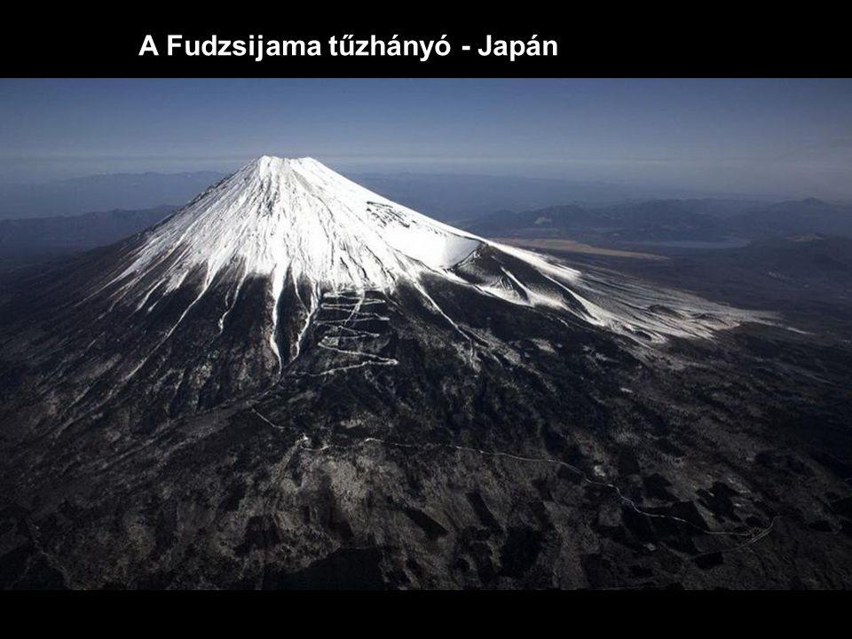 A Fudzsijama tűzhányó - Japán