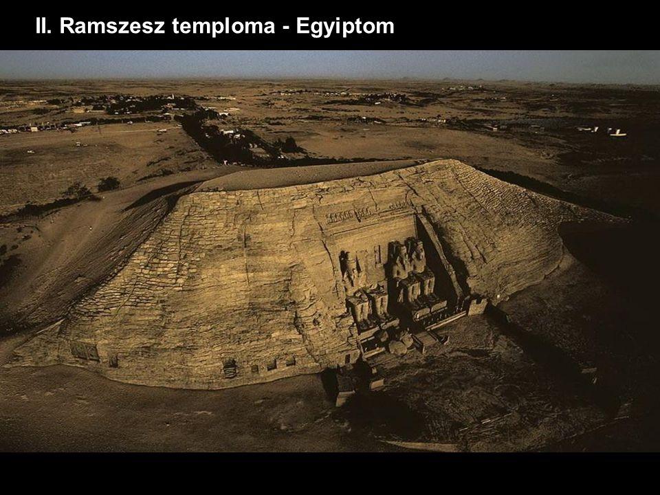 II. Ramszesz temploma - Egyiptom