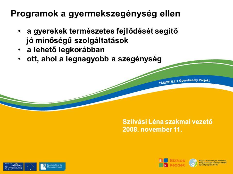 Szilvási Léna szakmai vezető 2008.november 11.