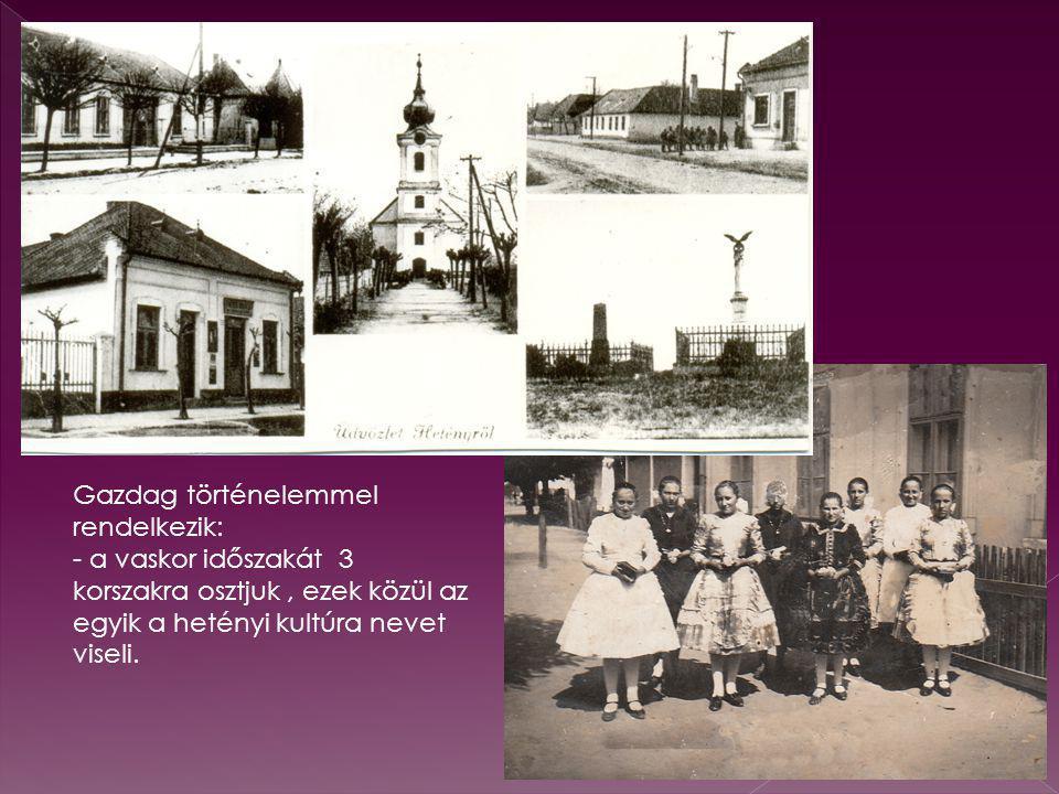 Komárom vármegye házi iparának legjelentékenyebb ága a hetényi Subrikálás.