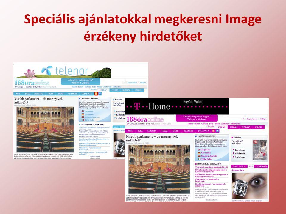 Speciális ajánlatokkal megkeresni Image érzékeny hirdetőket