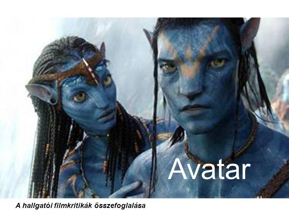 Avatar A hallgatói filmkritikák összefoglalása