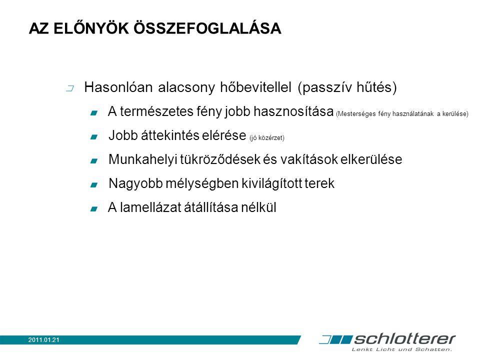TOVÁBBI ÚJDONSÁGOK Hybrid (termikusan leválasztott vezetősín) ɸ < 0,1 2011.01.21 K53VT és ADS35T és F27SPT is rendelhető