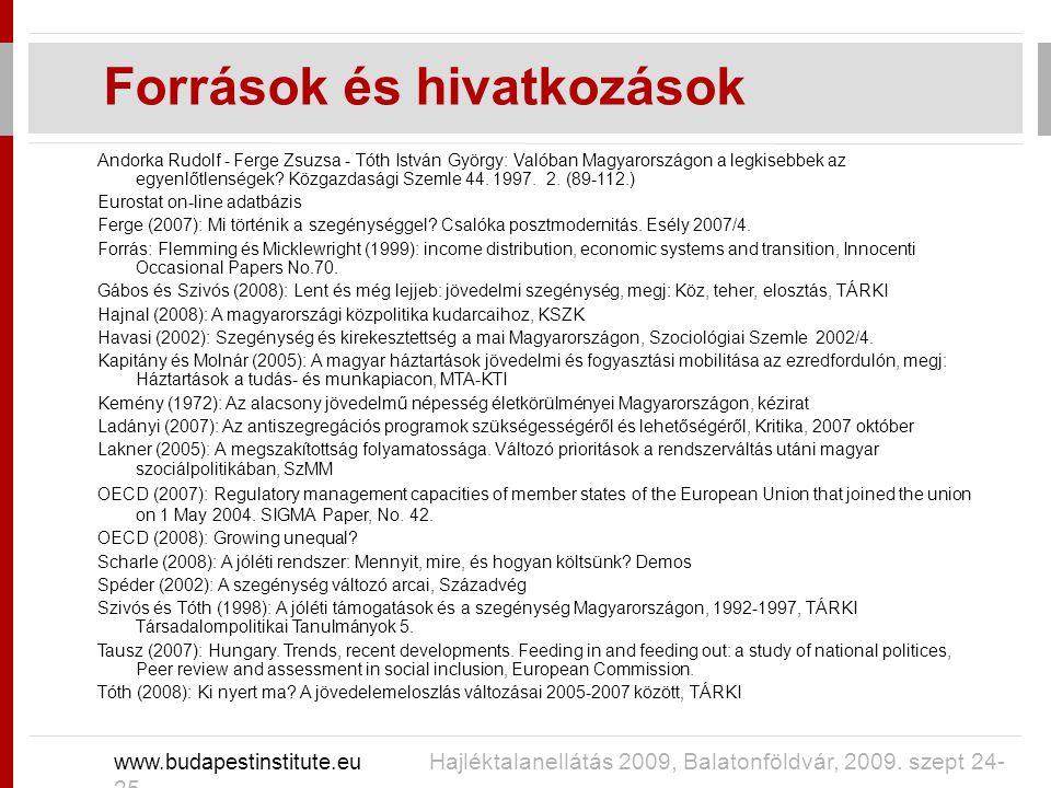 Andorka Rudolf - Ferge Zsuzsa - Tóth István György: Valóban Magyarországon a legkisebbek az egyenlőtlenségek.