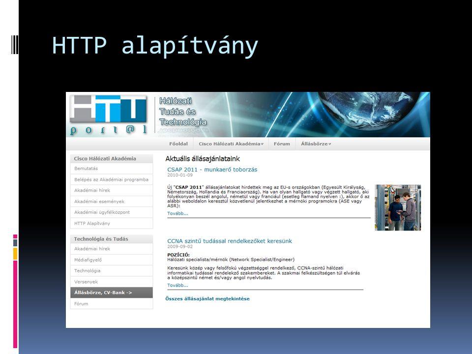 HTTP alapítvány