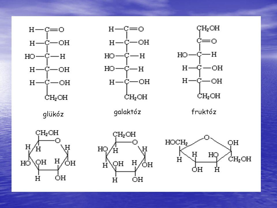 glükóz galaktózfruktóz