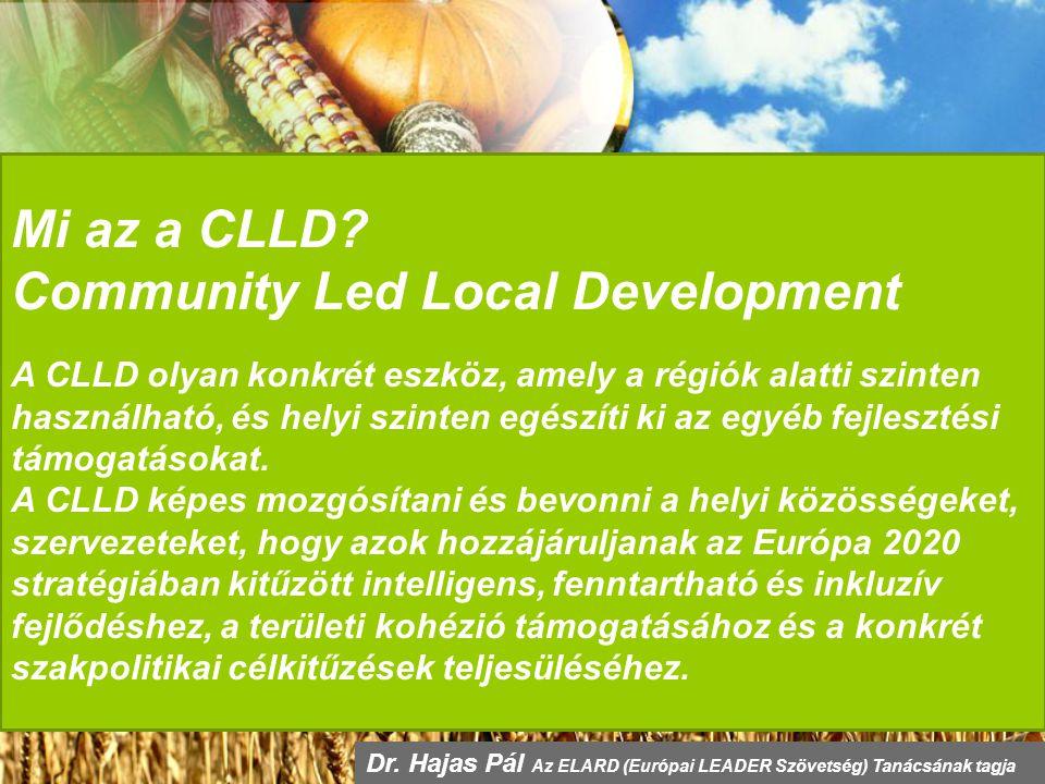 Mi az a CLLD.