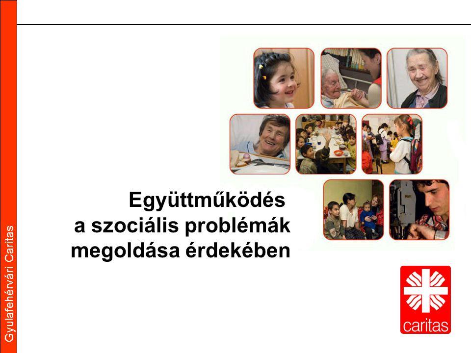 Gyulafehérvári Caritas Együttműködés a szociális problémák megoldása érdekében