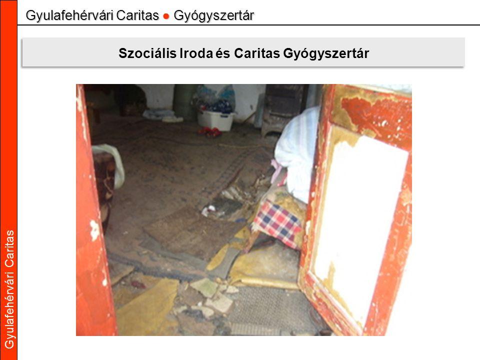 Gyulafehérvári Caritas Gyulafehérvári Caritas ● Gyógyszertár Szociális Iroda és Caritas Gyógyszertár