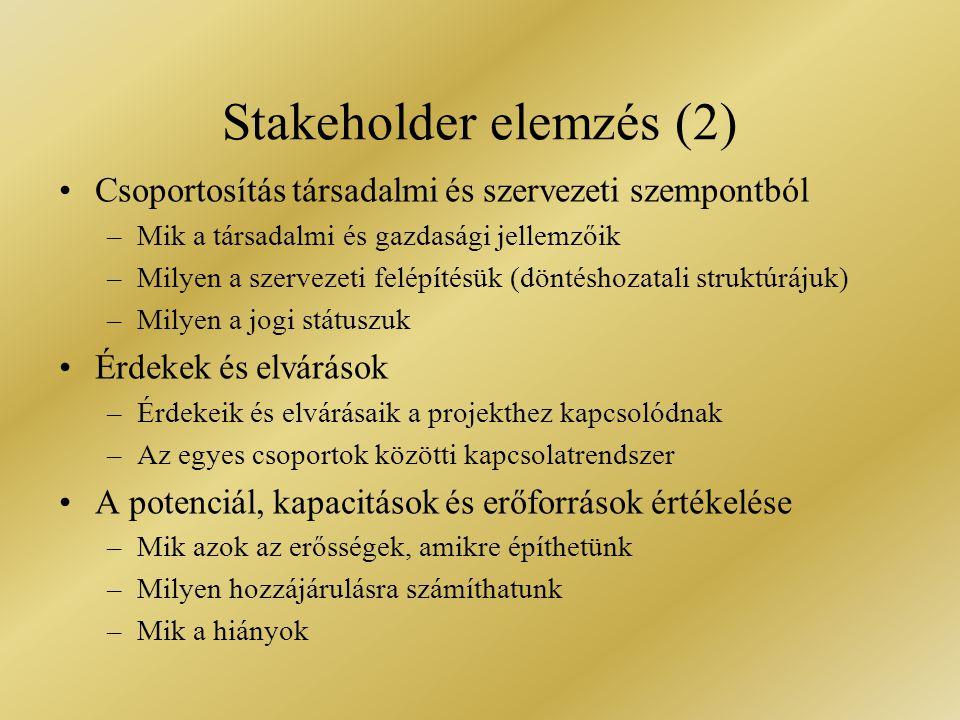 Csoportosítás társadalmi és szervezeti szempontból –Mik a társadalmi és gazdasági jellemzőik –Milyen a szervezeti felépítésük (döntéshozatali struktúr