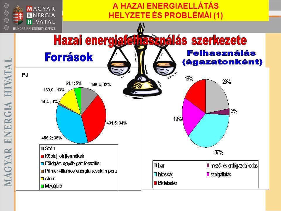 PJ A HAZAI ENERGIAELLÁTÁS HELYZETE ÉS PROBLÉMÁI (1)