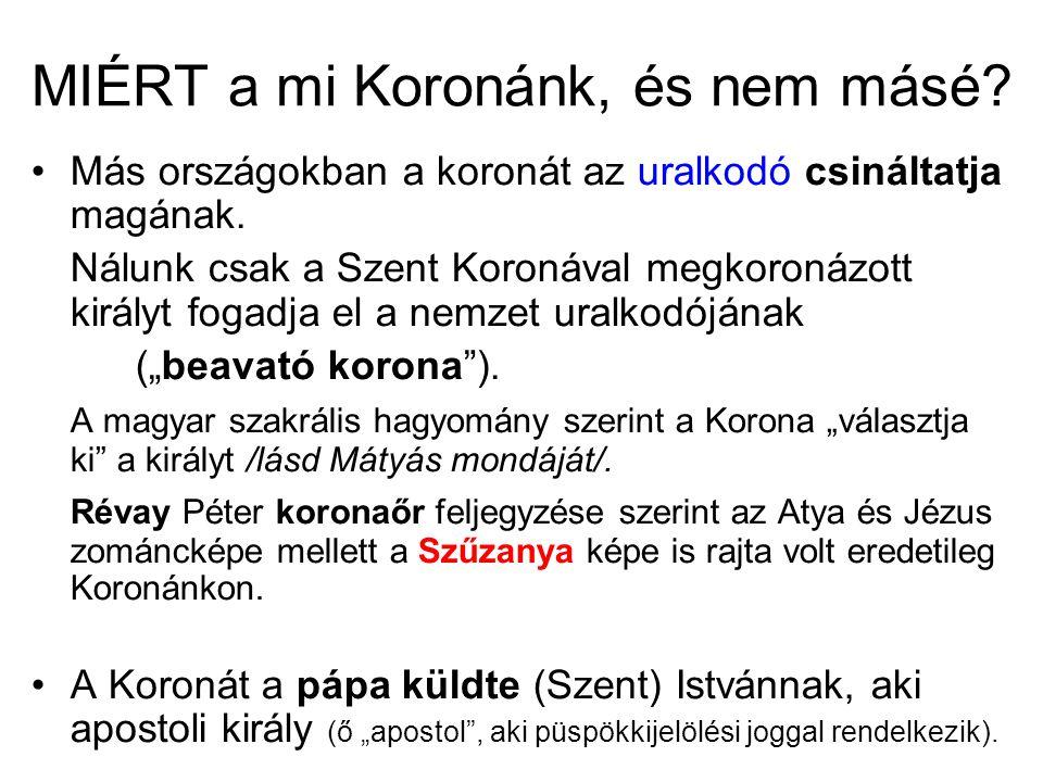 Hordhatta-e a fején Nagy Károly a Koronát.Szigeti István atya /Aachen/ szerint igen.