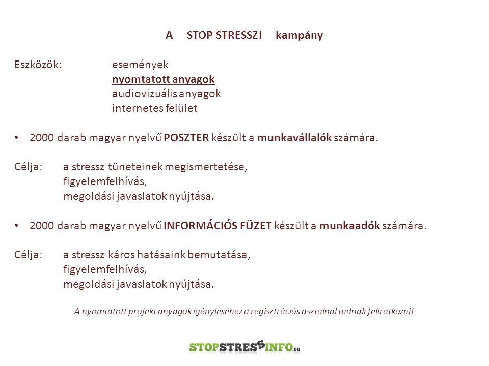 A STOP STRESSZ.