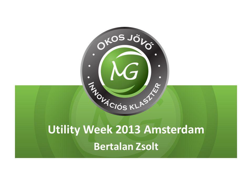 Utility Week 2013 Amsterdam Bertalan Zsolt