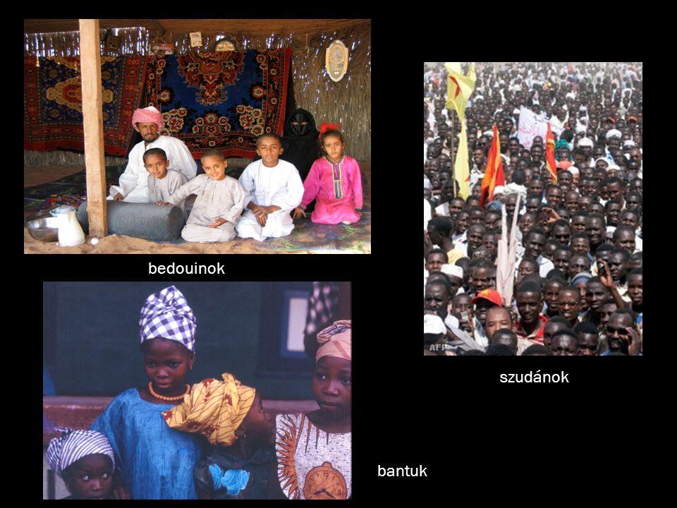 bedouinok szudánok bantuk
