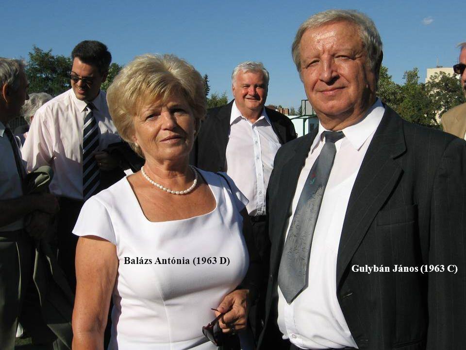 Varga Sándor Varga Sándor Ináncsi József Gulybán János felesége Csizmarik (1963 C-sek) Matild