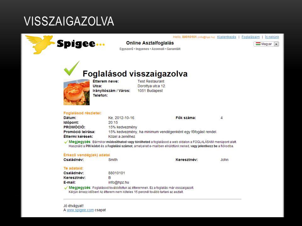 VISSZAIGAZOLVA