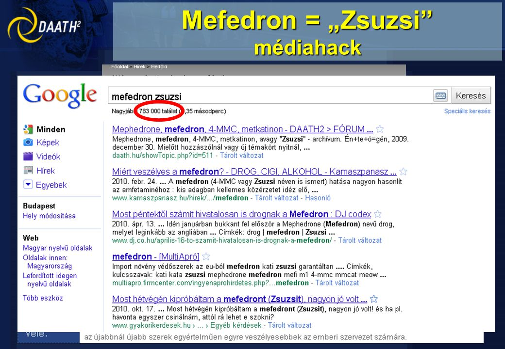 "Mefedron = ""Zsuzsi médiahack"