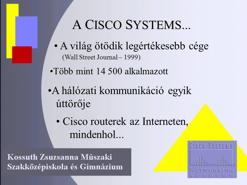 A C ISCO S YSTEMS...