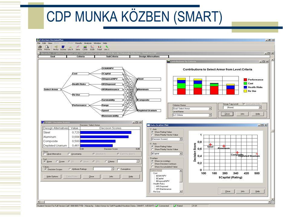 CDP MUNKA KÖZBEN (SMART)