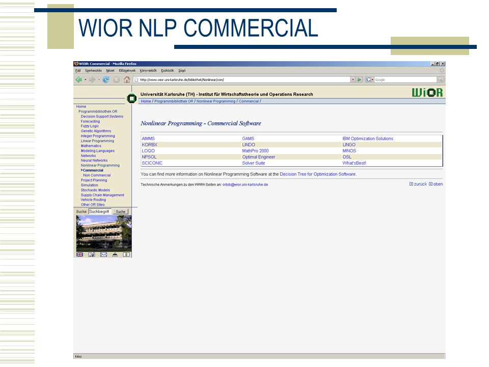 WIOR NLP COMMERCIAL