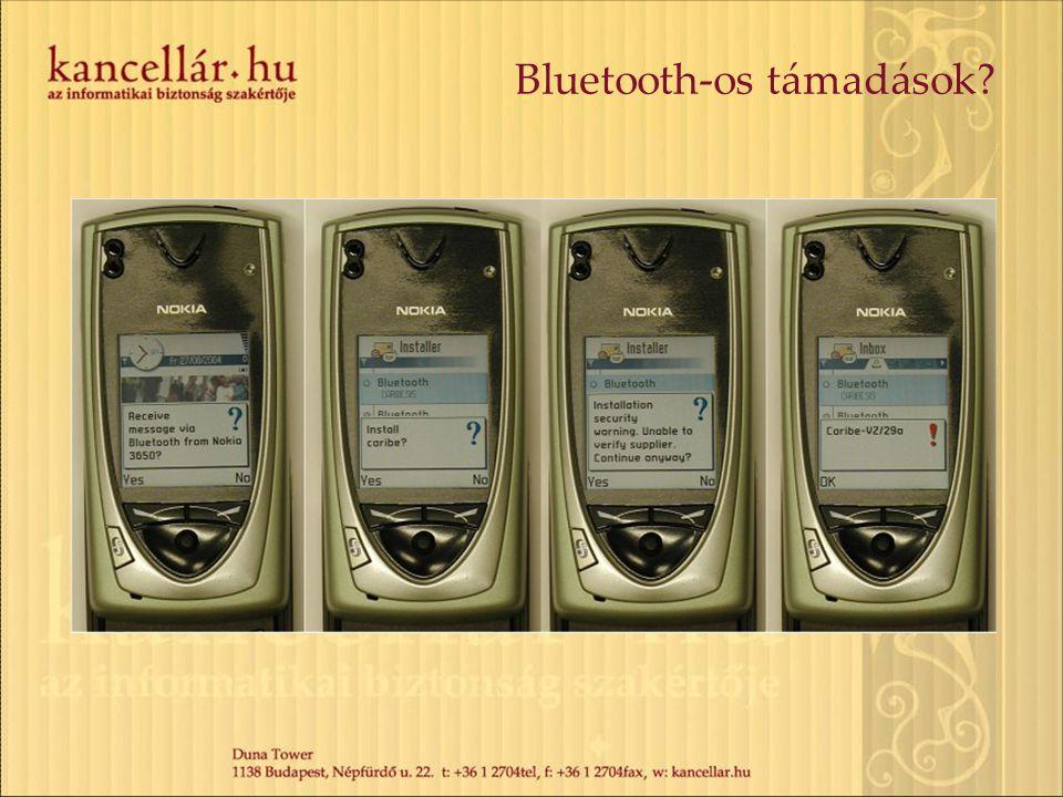 Bluetooth-os támadások?