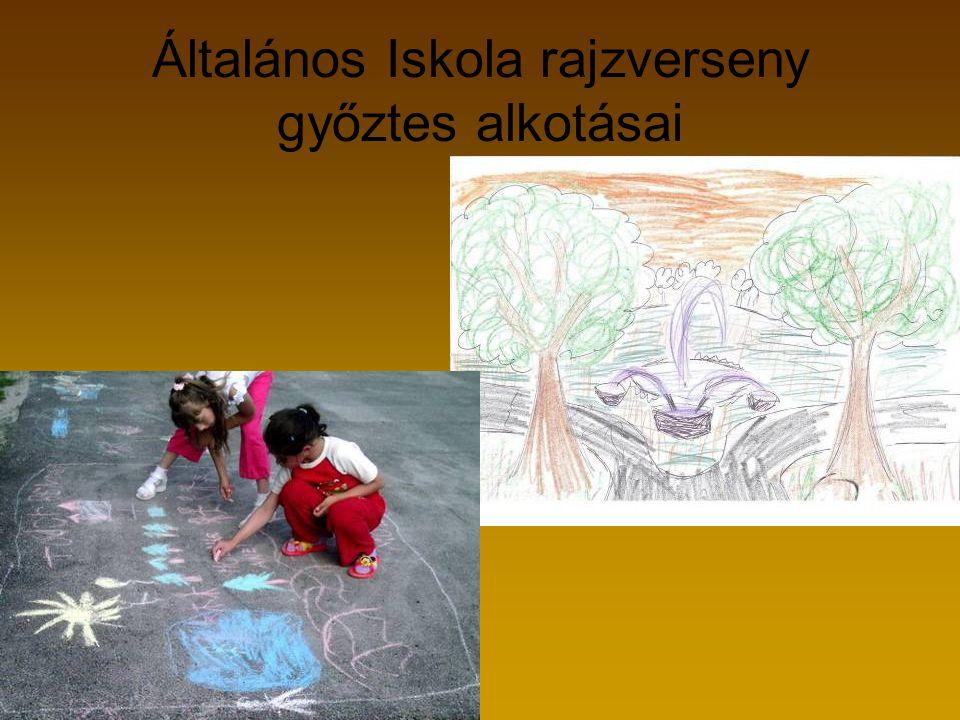 Általános Iskola rajzverseny győztes alkotásai