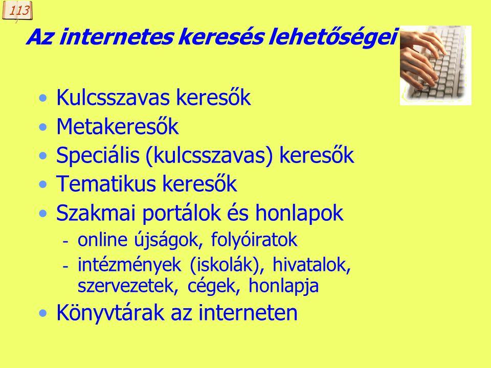 A kép forrása: http://www.globi.ca/news_03.shtml Információ-keresés az interneten A kép szövegének fordítása: Bocsánat! Ellenőrizni szeretném, hogy há