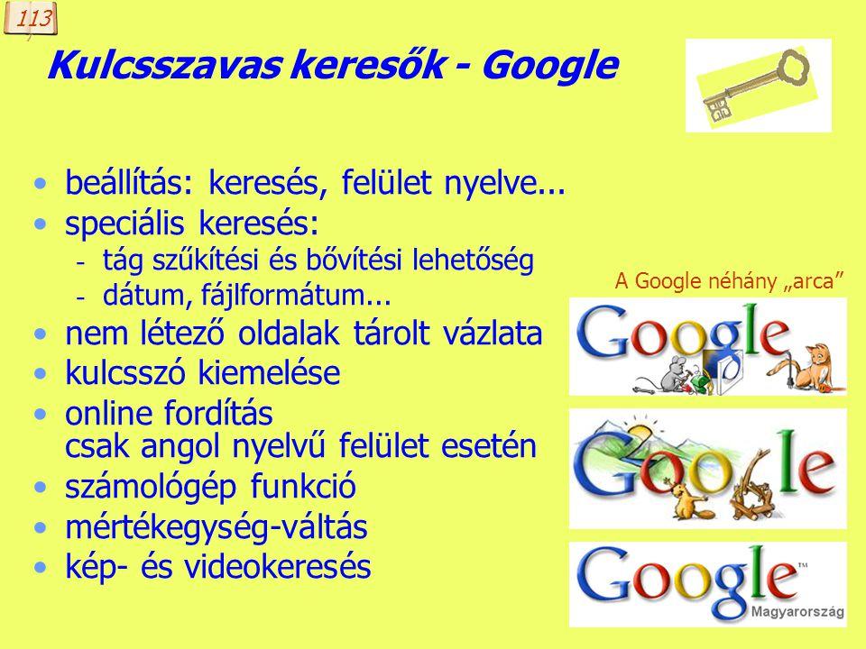 Készítette: B. László Kulcsszavas keresők Keresők elemzése: webni.innen.hu/Keres_c5_91k_c3_b6sszehasonl_c3_adt_c3_a1sa a pedagógia szó találati listáj