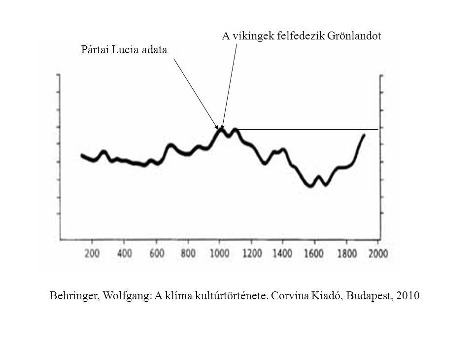 Behringer, Wolfgang: A klíma kultúrtörténete.