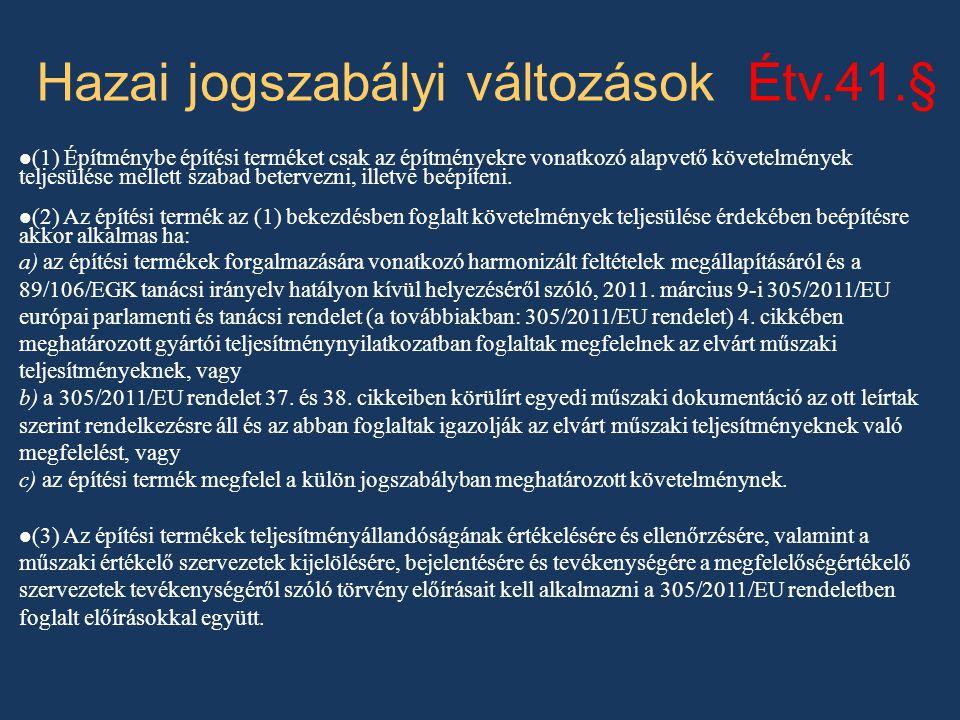 Engedélyezési kódex 312/2012.(XI. 8.) Korm.