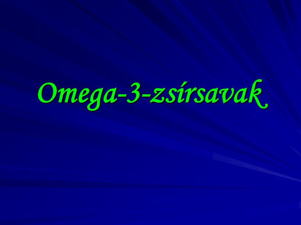 Omega-3-zsírsavak