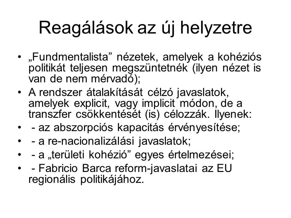 A Barca jelentés fő tézisei II.3.