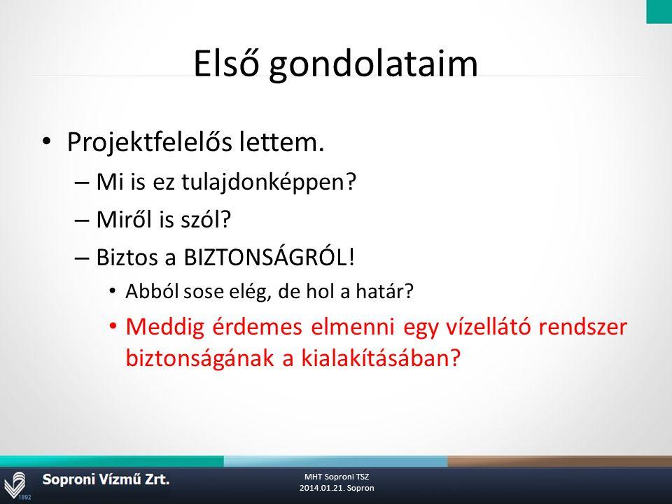 VBT általános felépítése MHT Soproni TSZ 2014.01.21. Sopron