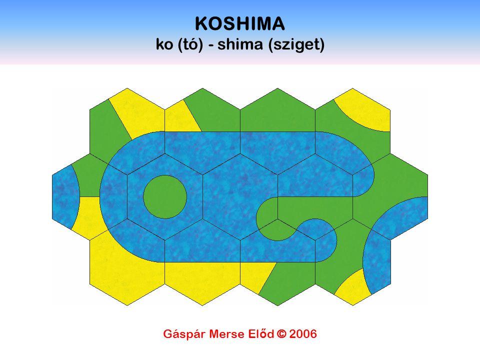 KOSHIMA ko (tó) - shima (sziget) Gáspár Merse El ő d © 2006