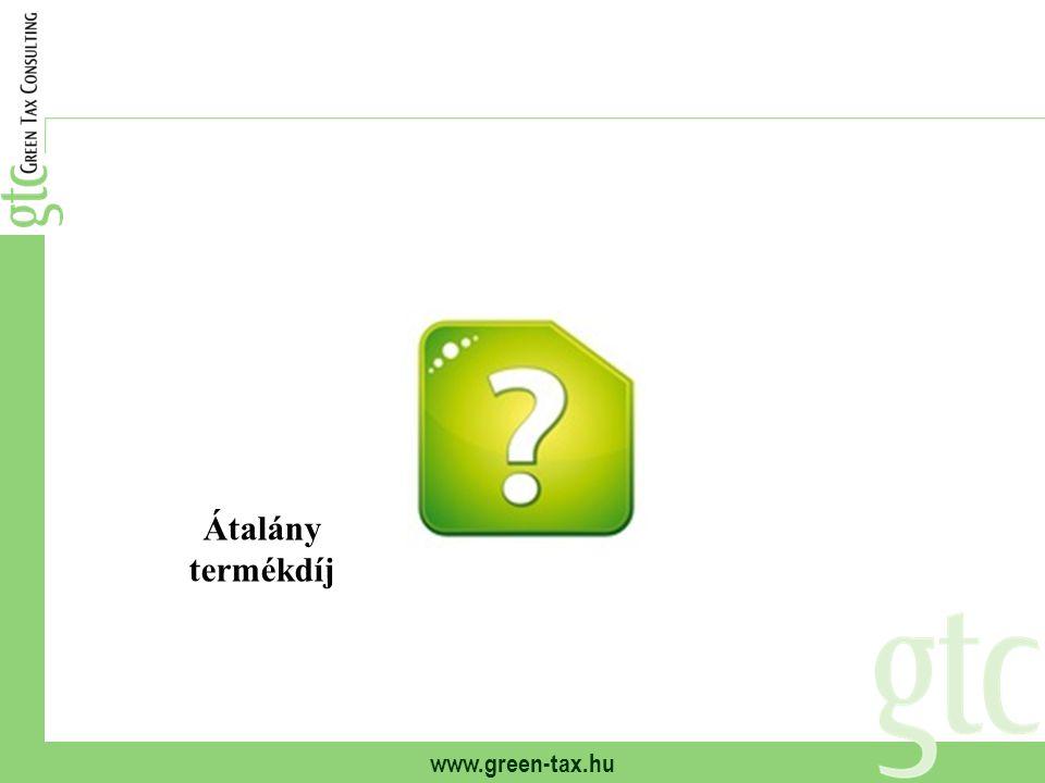 www.green-tax.hu Átalány termékdíj