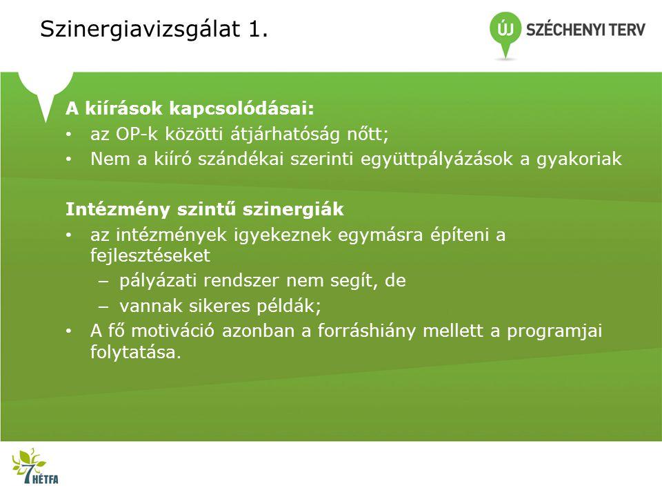 Szinergiavizsgálat 1.