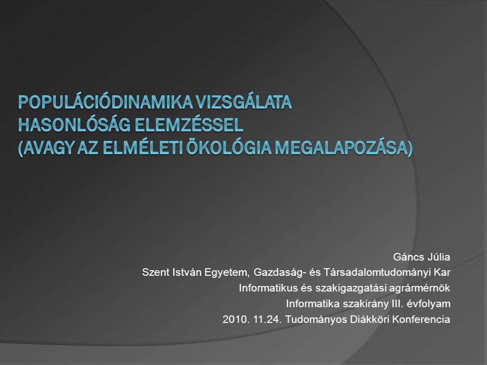 Tartalom  Bevezetés Motiváció Cél Célcsoport Hasznosság  Irodalmi áttekintés Ökológiai háttér Elemzési módszer: COCO MCM on-line standard verzió  Anyag és módszer  Eredmények  Eredmények értelmezése  Jövőkép  Összefoglalás