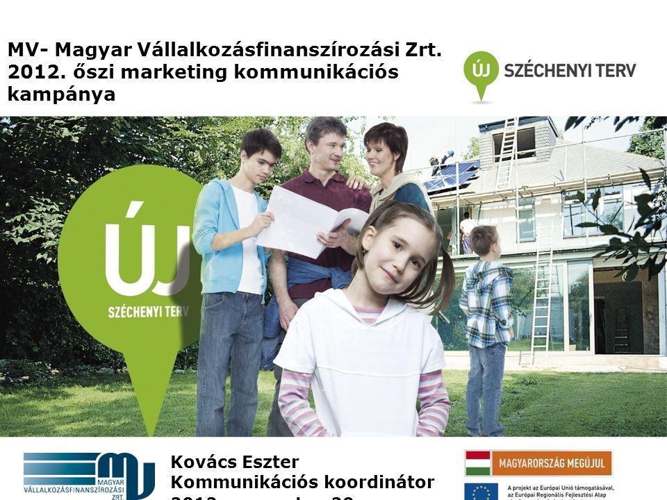 MV- Magyar Vállalkozásfinanszírozási Zrt. 2012.