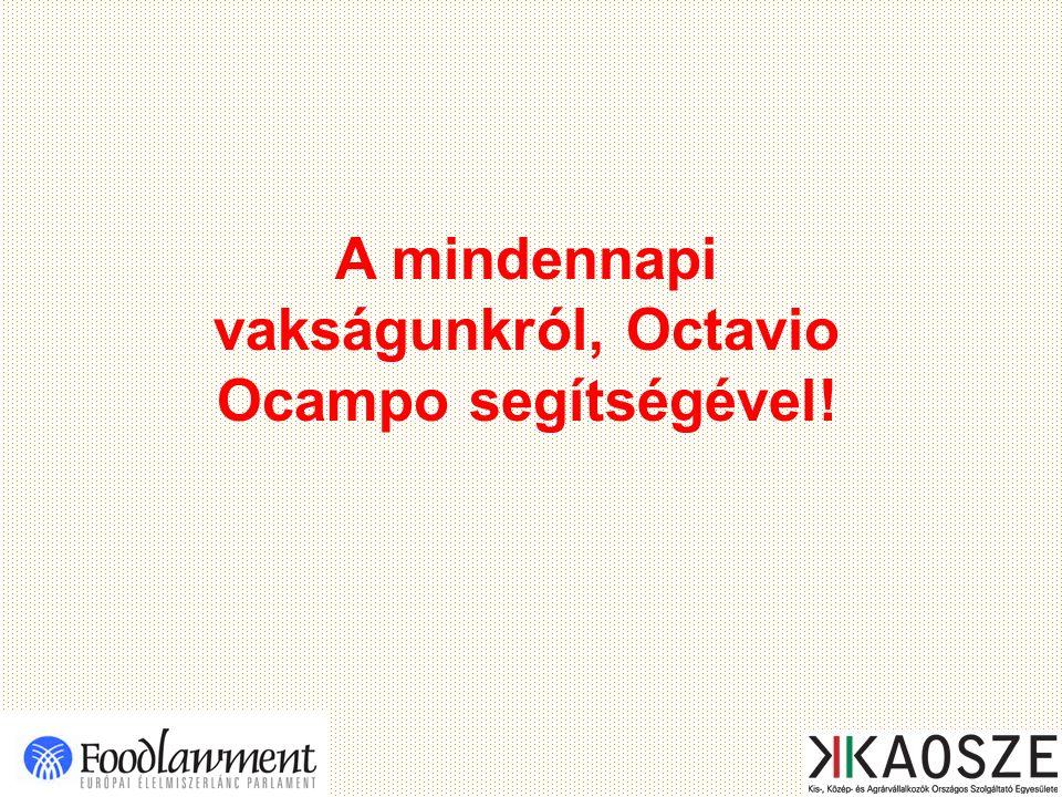 A mindennapi vakságunkról, Octavio Ocampo segítségével!