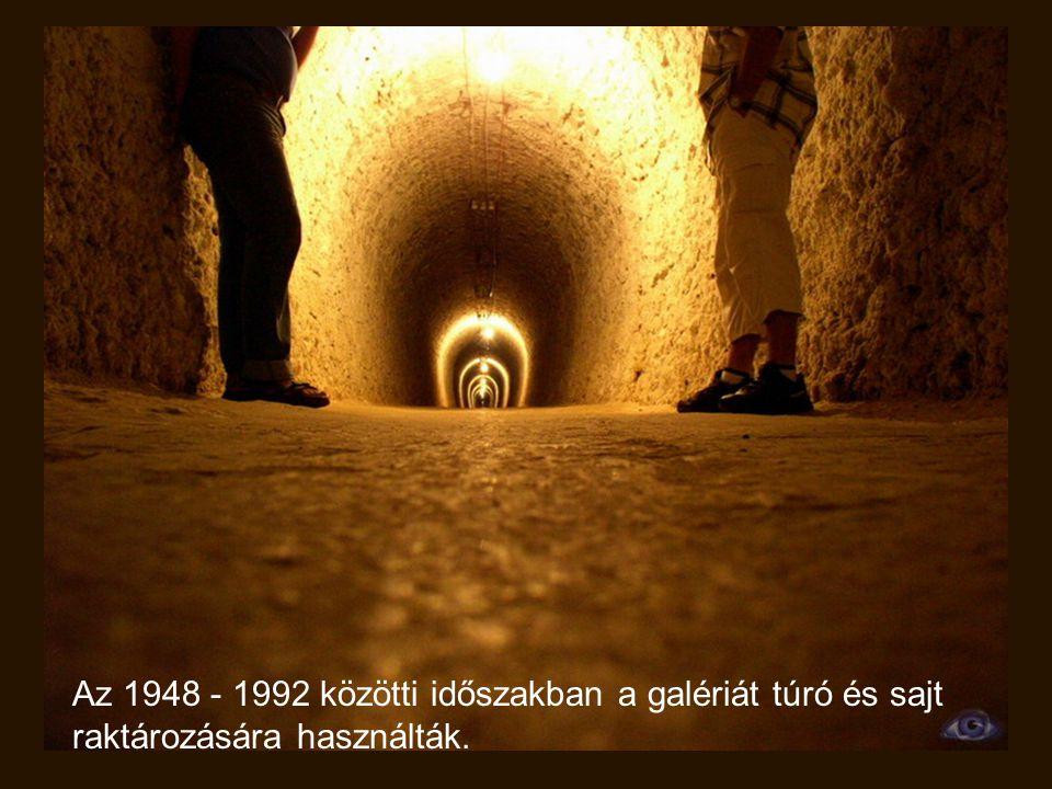 A Gizella bánya a tulajdonképpeni kezelés szinhelye.