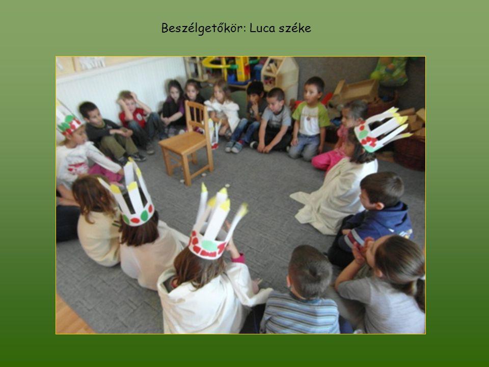 Beszélgetőkör: Luca széke