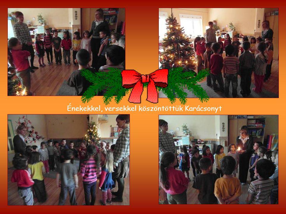 Énekekkel, versekkel köszöntöttük Karácsonyt