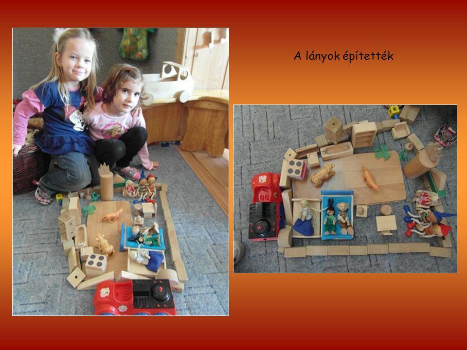 A lányok építették