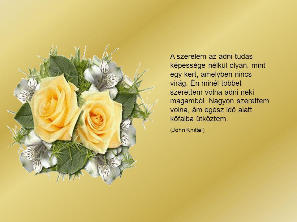 Mint szelíd tavaszi Eső a rónára, Úgy hulldogál csókod Ajkamra, orcámra, Mindenik cseppjéből Egy-egy virág terem... Csókzáporos tavasz!... Virágos sze