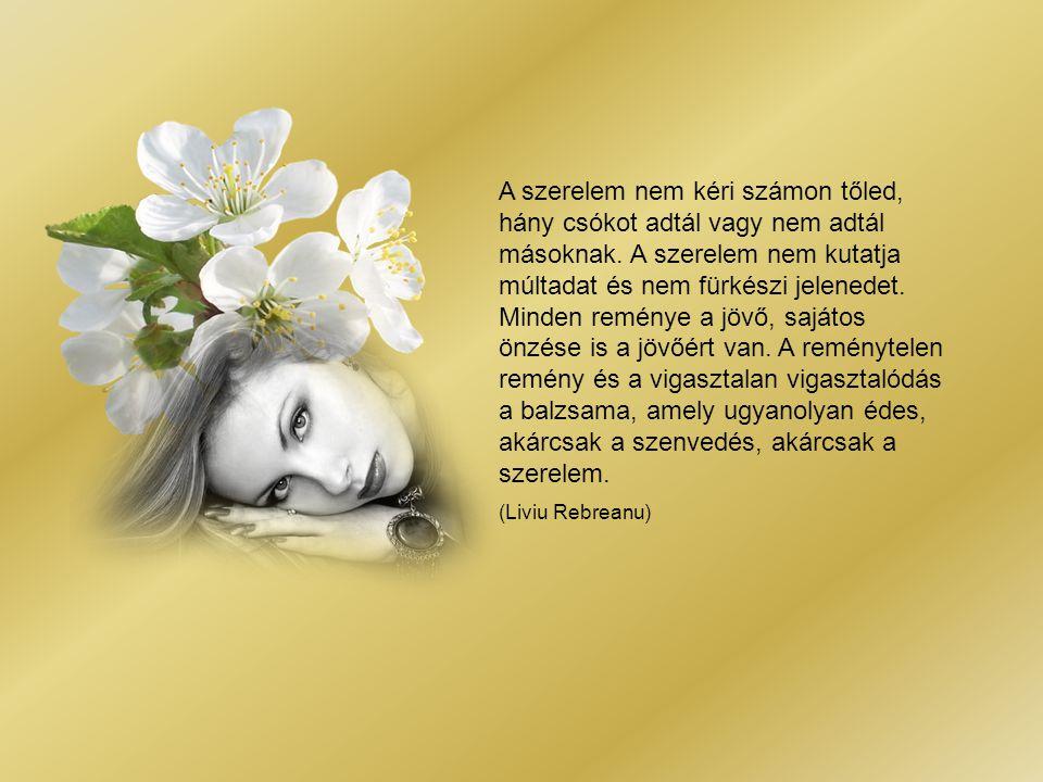 A szerelem nem kéri számon tőled, hány csókot adtál vagy nem adtál másoknak.