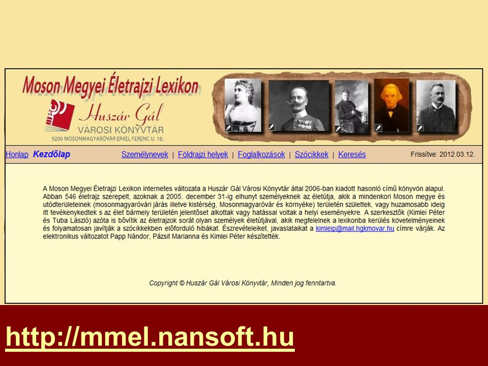 http://mmel.nansoft.hu