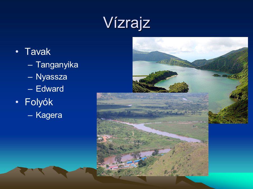 Ökoturizmus Nemzeti parkok –Virunga Nemzeti Park –Volcanoes Nemzeti Park Hegymászás –Vulkánok megfigyelése Ideális utazási időpont